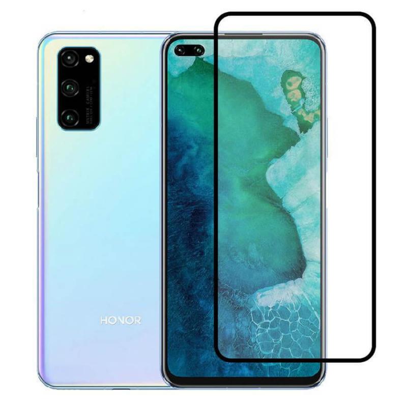 Защитное цветное стекло Mocolo (full glue) на весь экран для Huawei Honor V30