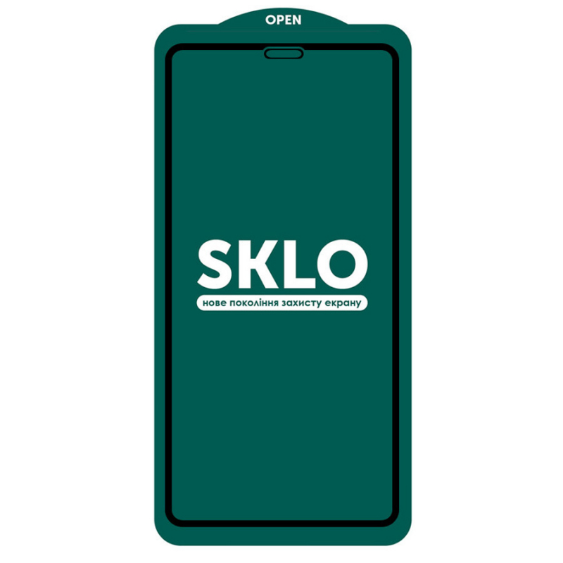 "Защитное стекло SKLO 5D (full glue) для Apple iPhone 11 Pro Max (6.5"")"