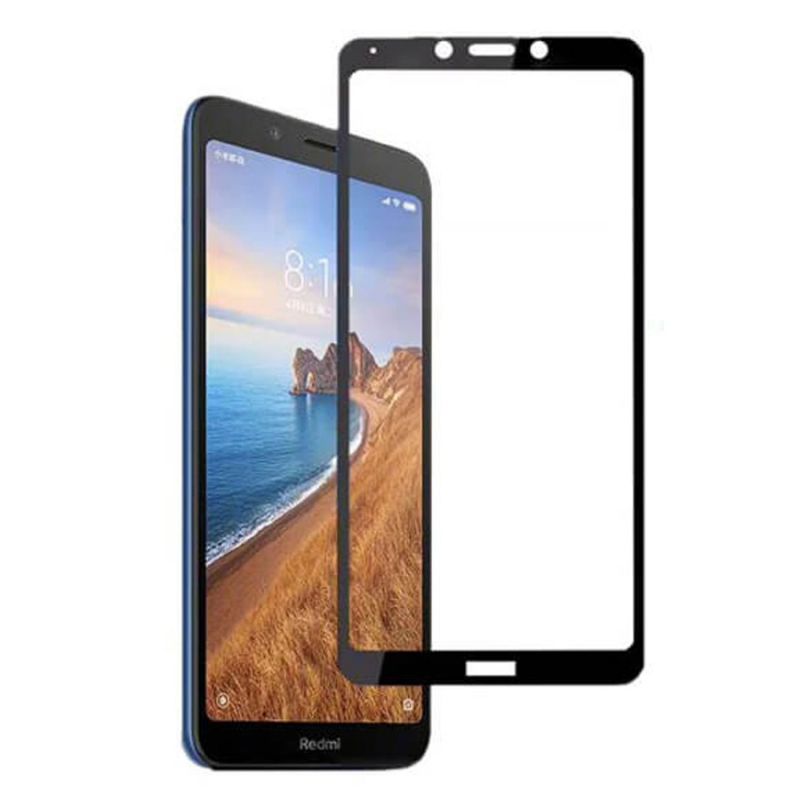 Защитное стекло SKLO 5D (full glue) для Xiaomi Redmi 7A