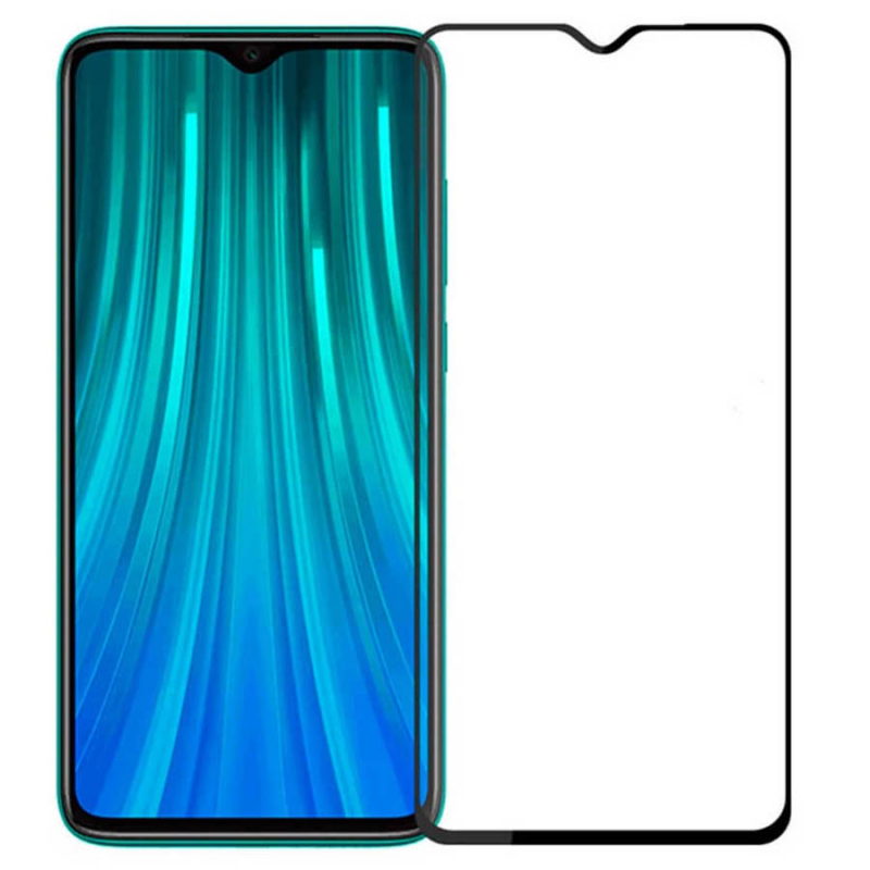 Защитное стекло SKLO 5D (full glue) для Xiaomi Redmi Note 8
