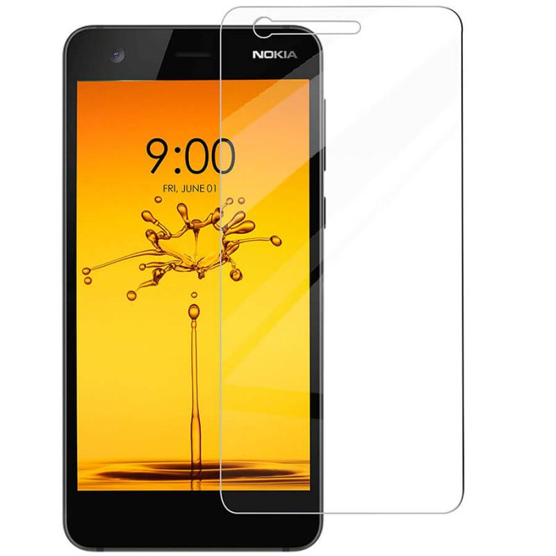 Защитное стекло Ultra 0.33mm для Nokia 3.1 (картонная упаковка)