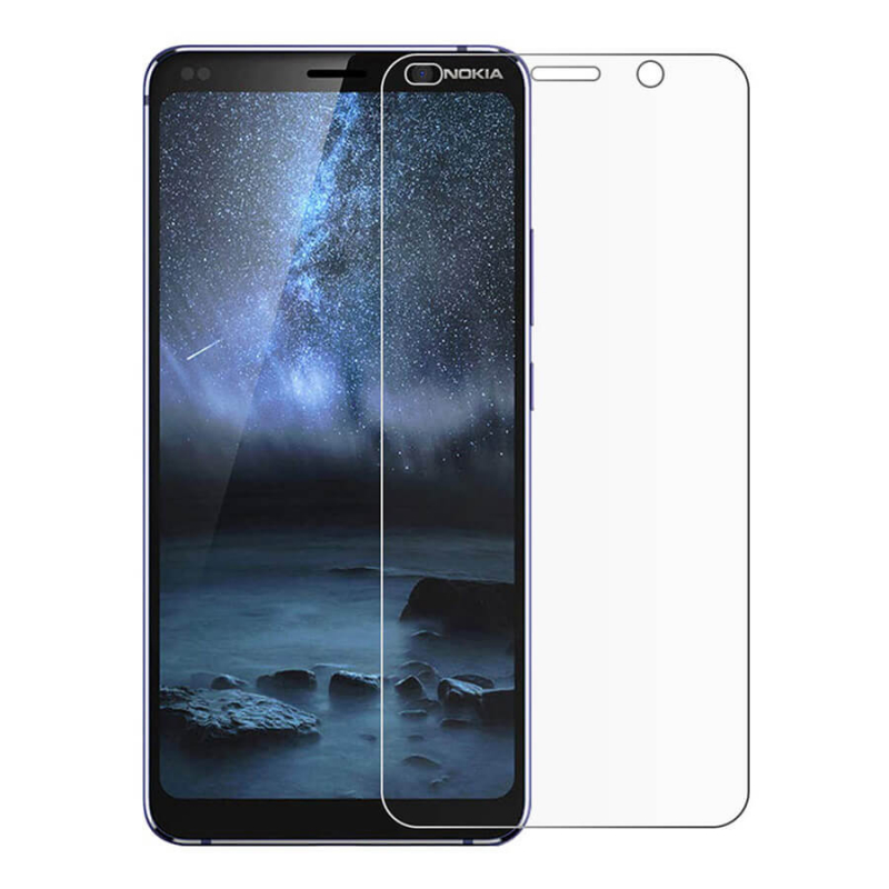 Защитное стекло Ultra 0.33mm (H+) для Nokia 9 PureView (картонная упаковка)