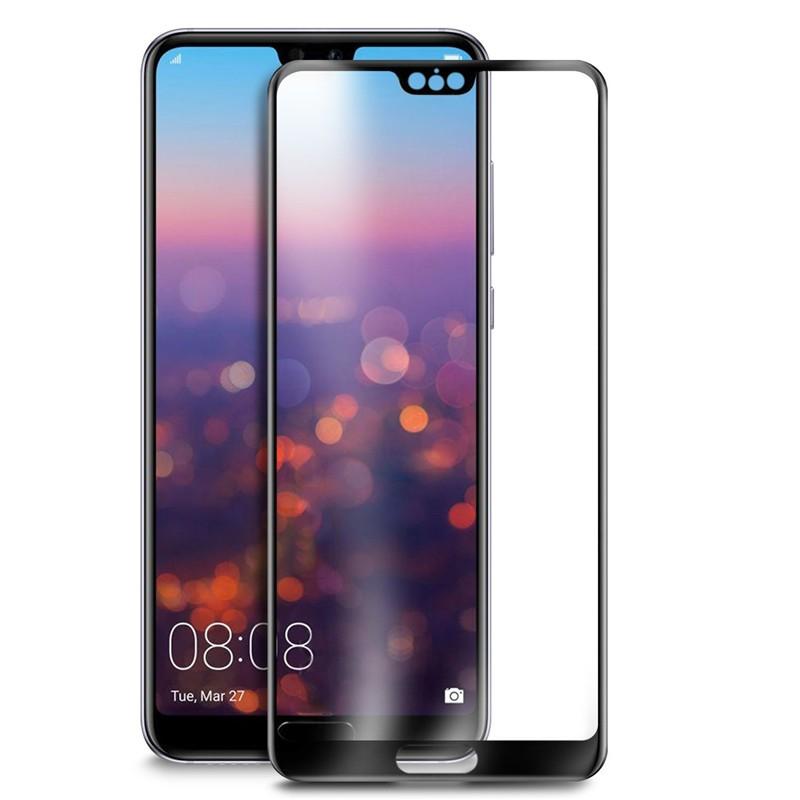 Защитное цветное 3D стекло Mocolo для Huawei P20