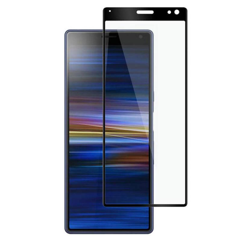 Защитное цветное 3D стекло Mocolo для Sony Xperia 10