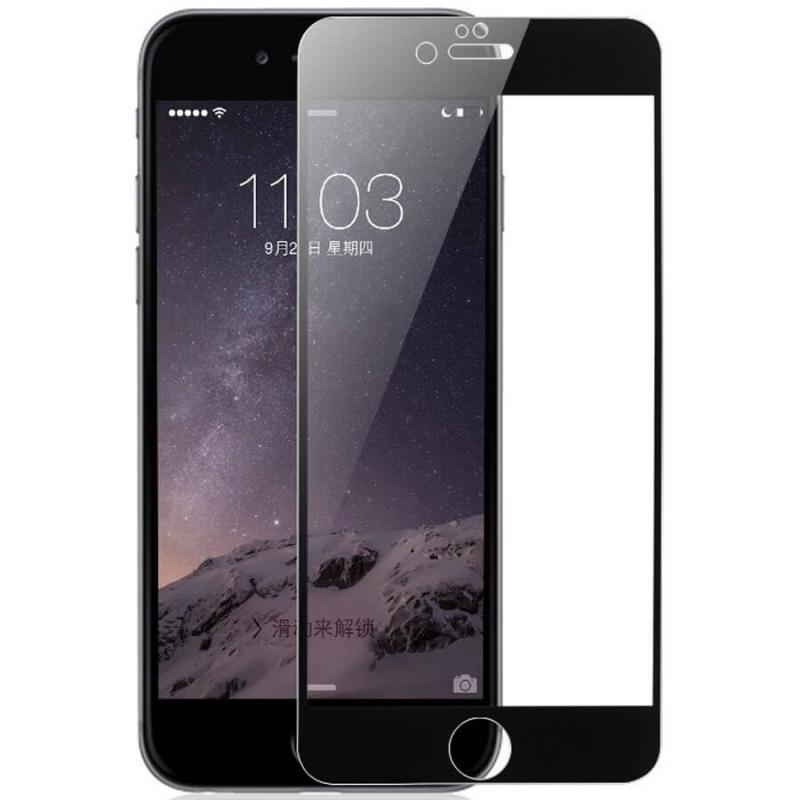 """Защитное цветное 3D стекло Mocoson (full glue) для Apple iPhone 8 plus (5.5"""")"""