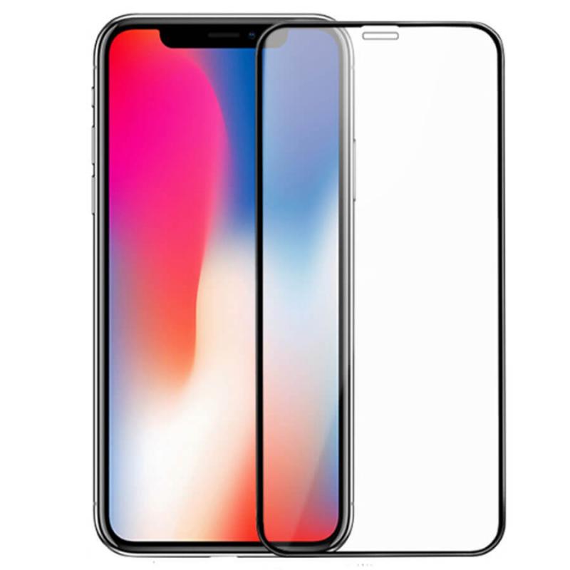 Защитное цветное 3D стекло Mocoson (full glue) для Apple iPhone X / XS / 11 pro