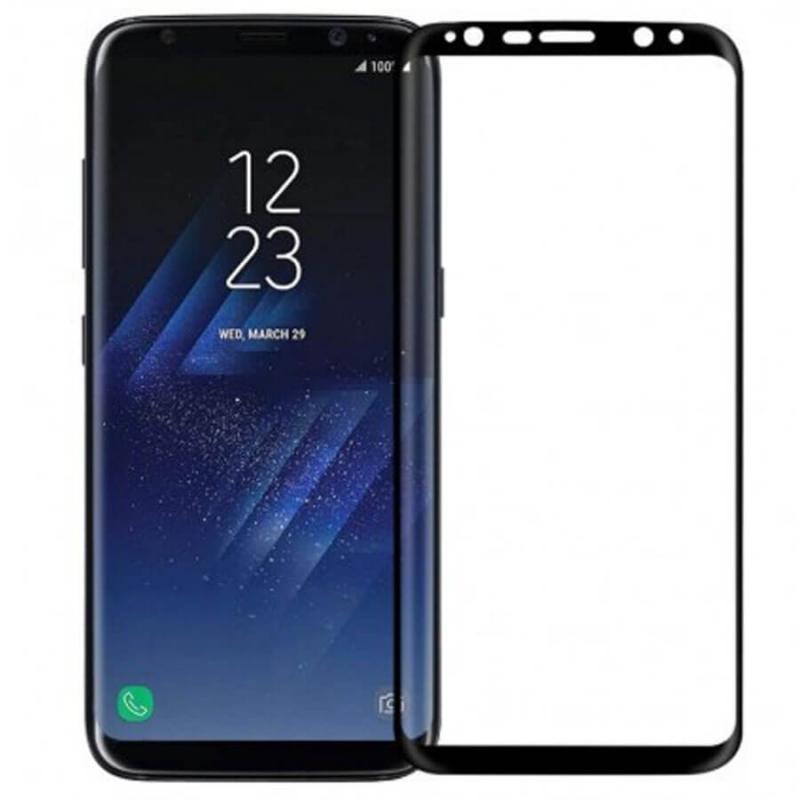 Защитное цветное 3D стекло Mocoson (full glue) для Samsung G955 Galaxy S8 Plus