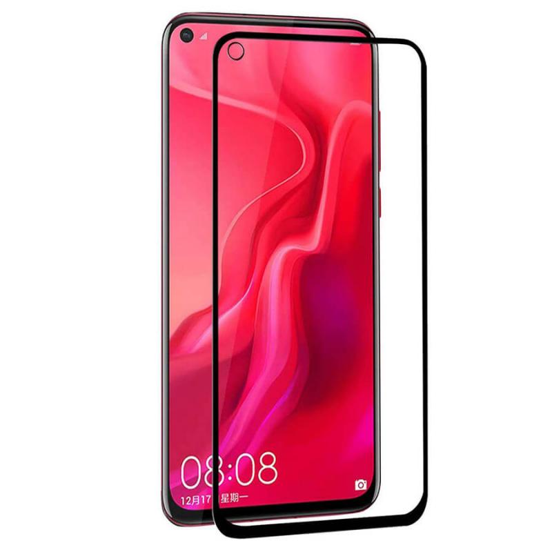 Защитное цветное стекло Mocolo (CP+) на весь экран для Huawei Nova 4