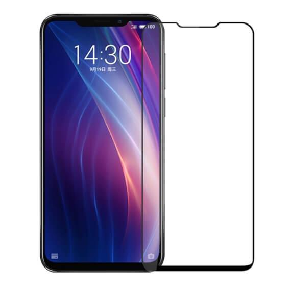 Защитное цветное стекло Mocolo (CP+) на весь экран для Meizu X8