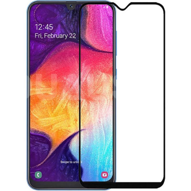 Защитное цветное стекло Mocolo (full glue) на весь экран для Huawei Honor 8S
