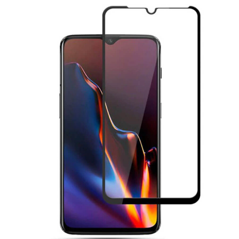 Защитное цветное стекло Mocolo (full glue) на весь экран для Huawei Honor 9X