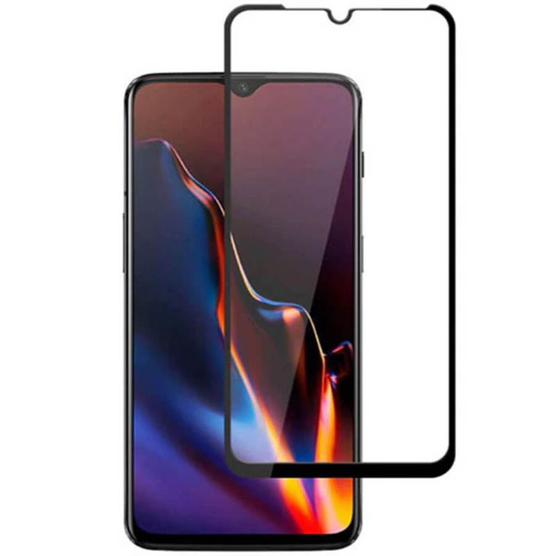 Защитное цветное стекло Mocolo (full glue) на весь экран для Huawei Honor Play 3