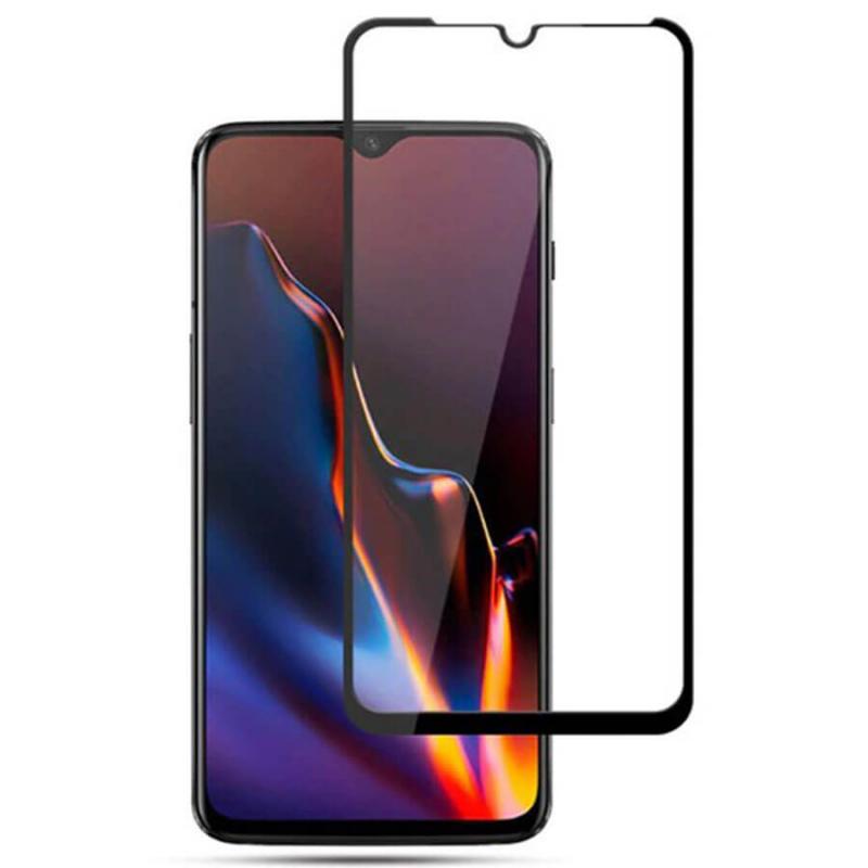Защитное цветное стекло Mocolo (full glue) на весь экран для  Huawei Honor Play 8