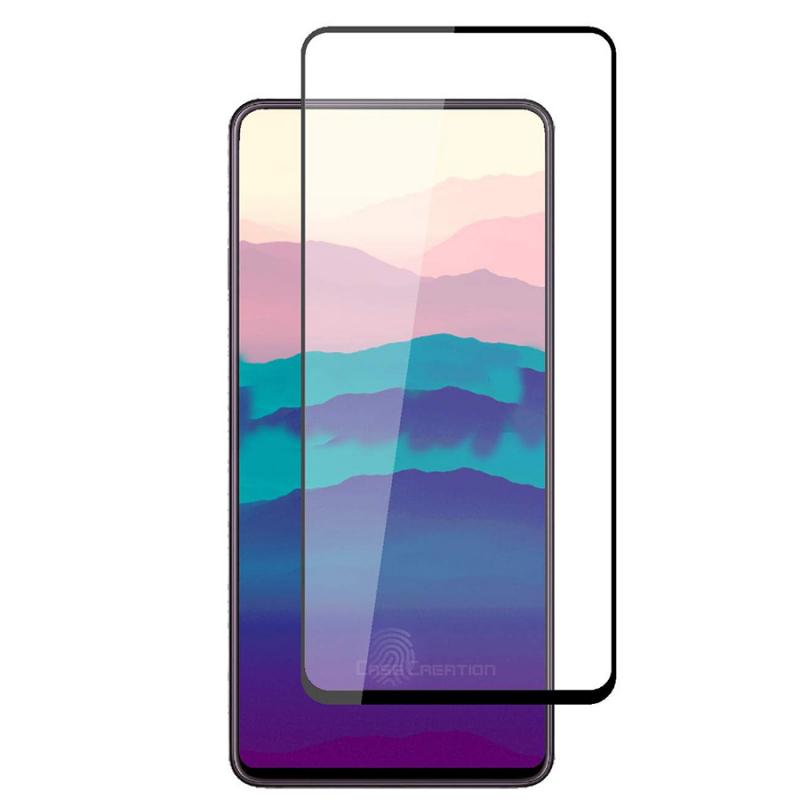 Защитное цветное стекло Mocolo (full glue) на весь экран для Samsung Galaxy A80 / A90