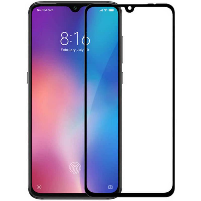 Защитное цветное стекло Mocolo (full glue) на весь экран для Samsung Galaxy A91