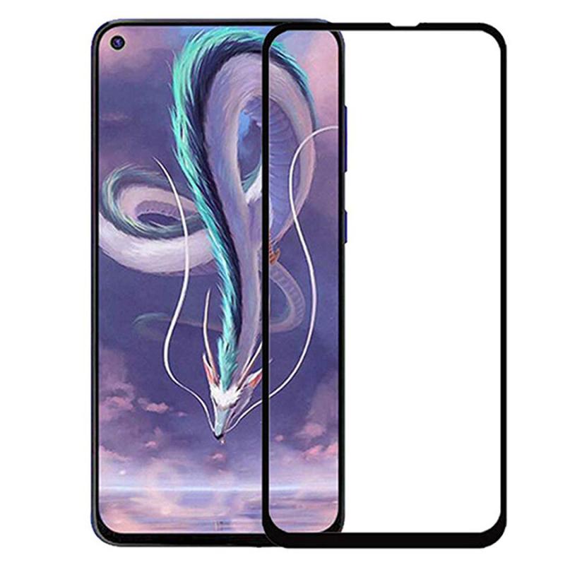Защитное цветное стекло Mocolo (full glue) на весь экран для Samsung Galaxy M40