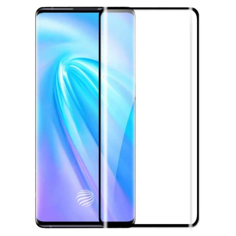 Защитное цветное стекло Mocolo (full glue) на весь экран для Vivo Nex 3