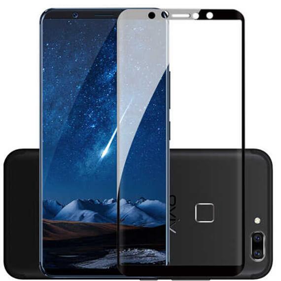 Защитное цветное стекло Mocolo (full glue) на весь экран для Vivo X20