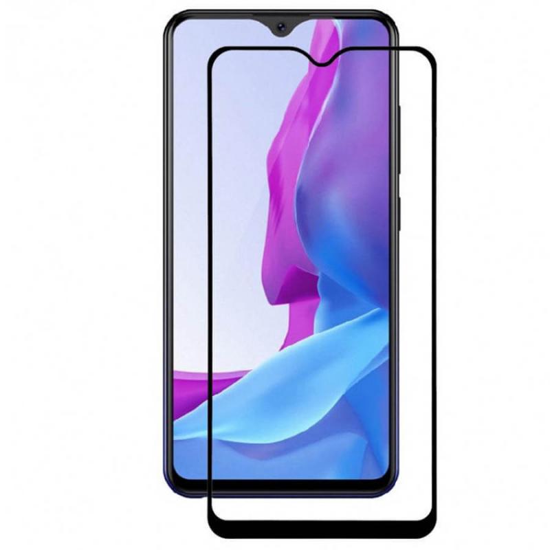 Защитное цветное стекло Mocolo (full glue) на весь экран для Xiaomi Mi 10