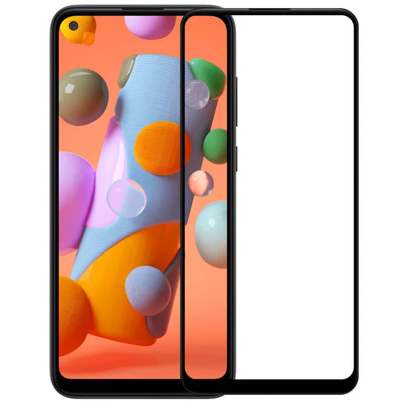 Защитное цветное стекло Mocoson 5D (full glue) для Xiaomi Redmi Note 9 / Redmi 10X