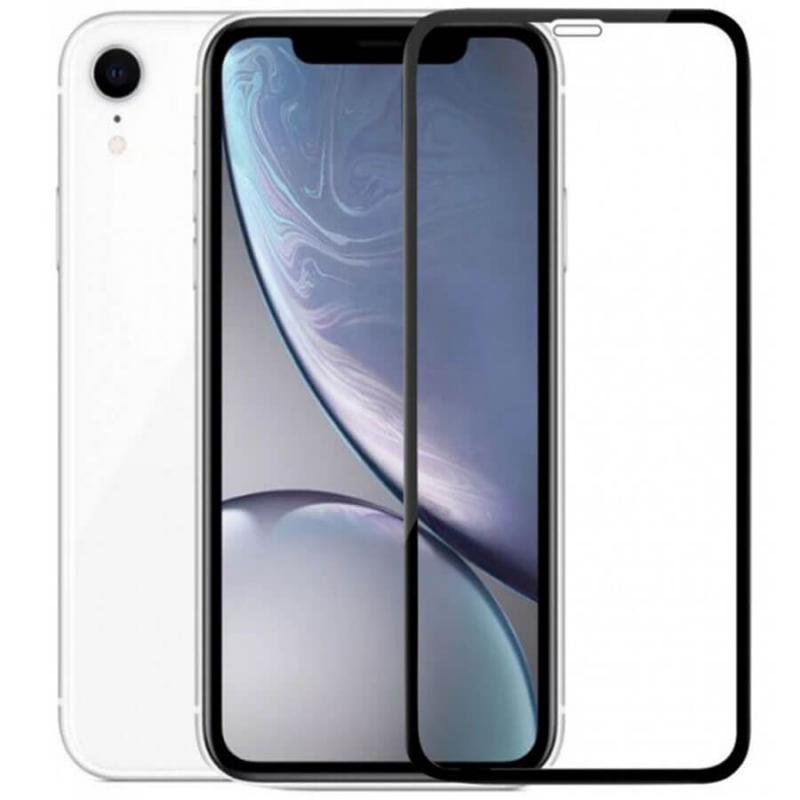 """Защитное цветное стекло Mocoson 5D (full glue) для Apple iPhone 8 / SE (2020) (4.7"""")"""
