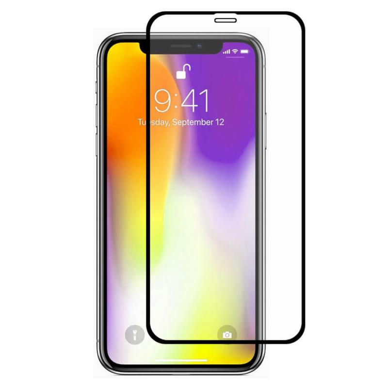 Защитное цветное стекло Mocoson (full glue) на весь экран для Apple iPhone XS Max / 11 Pro Max