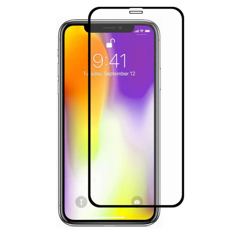 """Защитное цветное стекло Mocoson 5D (full glue) для Apple iPhone 12 Pro Max (6.7"""")"""