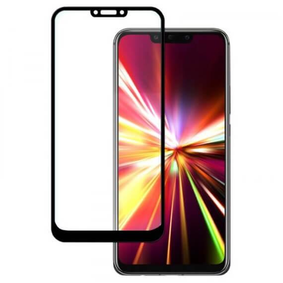 Защитное цветное стекло Mocoson (full glue) на весь экран для Huawei Mate 20 lite