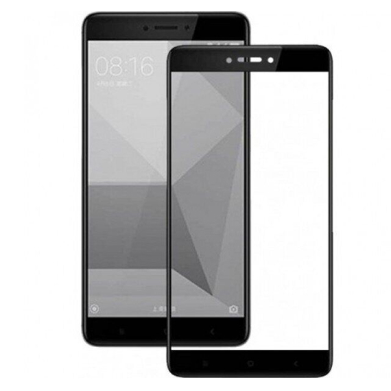 Защитное цветное стекло Mocoson (full glue) на весь экран для Xiaomi Mi 5X / Mi A1