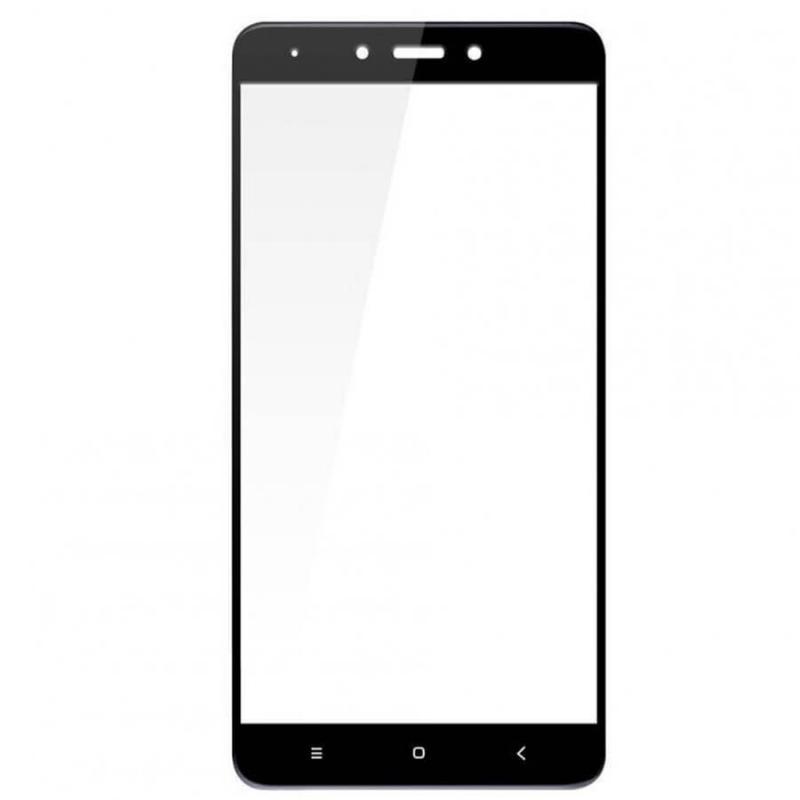 Защитное цветное стекло Mocoson (full glue) на весь экран для Xiaomi Redmi Note 4X / Note 4 (SD)