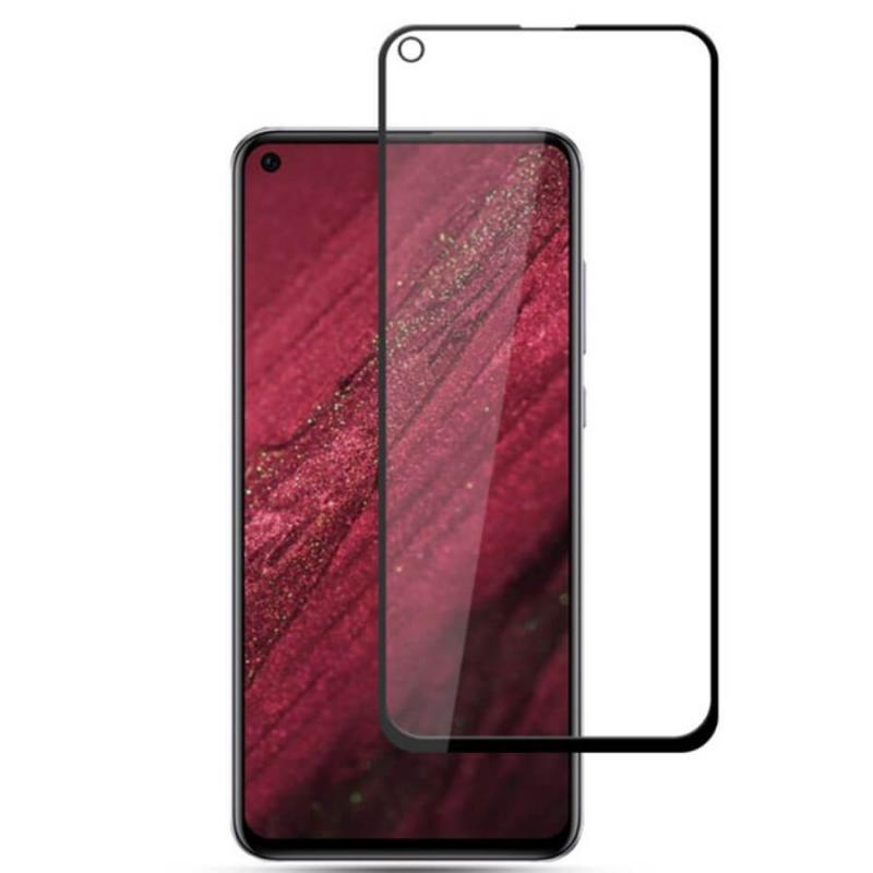 Защитное цветное стекло Mocolo (full glue) на весь экран для Huawei Nova 4