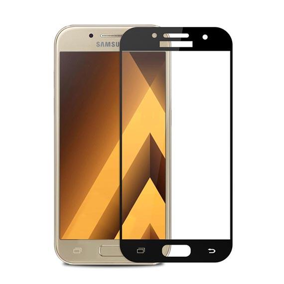 Защитное цветное 3D стекло Mocolo для Samsung A520 Galaxy A5 (2017)