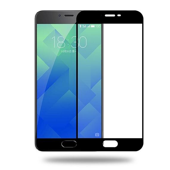 Защитное цветное стекло Mocolo (CP+) на весь экран для Meizu M5s