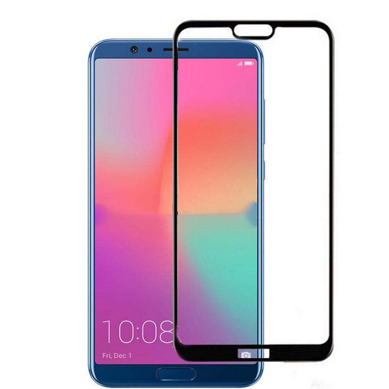 Защитное цветное стекло Mocolo (full glue) на весь экран для Huawei Honor 10